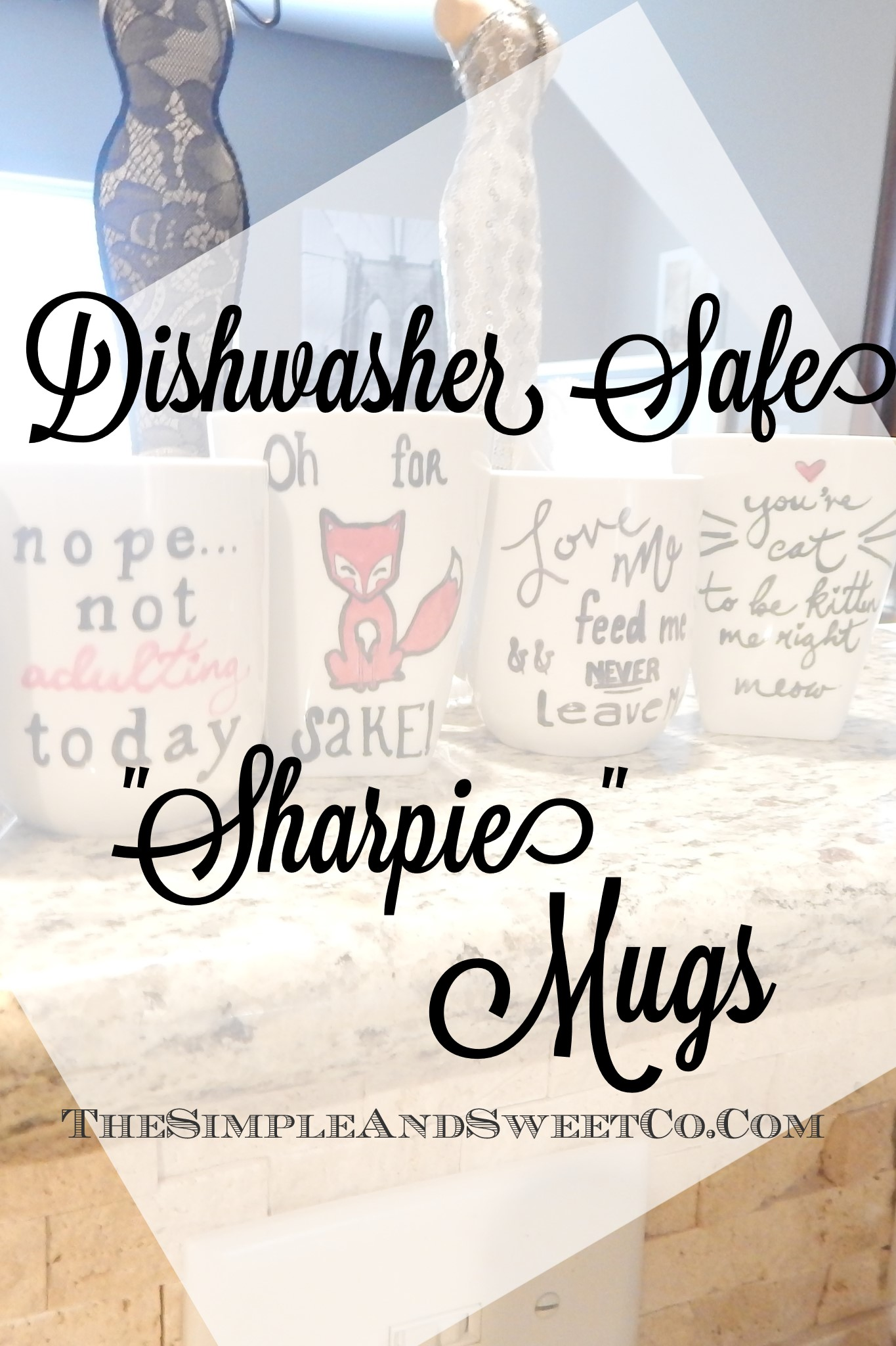 Dishwasher Proof Sharpie Mugs